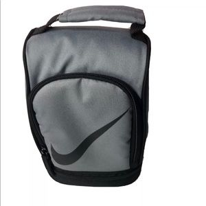 Nike Lunch Dome Bag Tote Insulated Zippered Gray